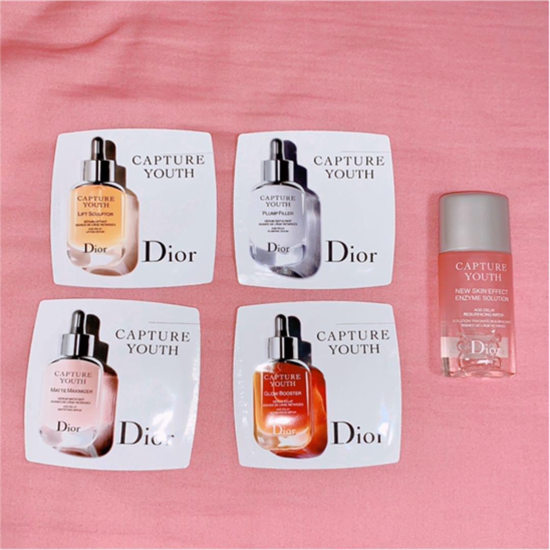 uk availability de86a 3cefe 【Dior 化粧水 美容液 サンプルセット】(¥999) - メルカリ スマホでかんたん フリマアプリ