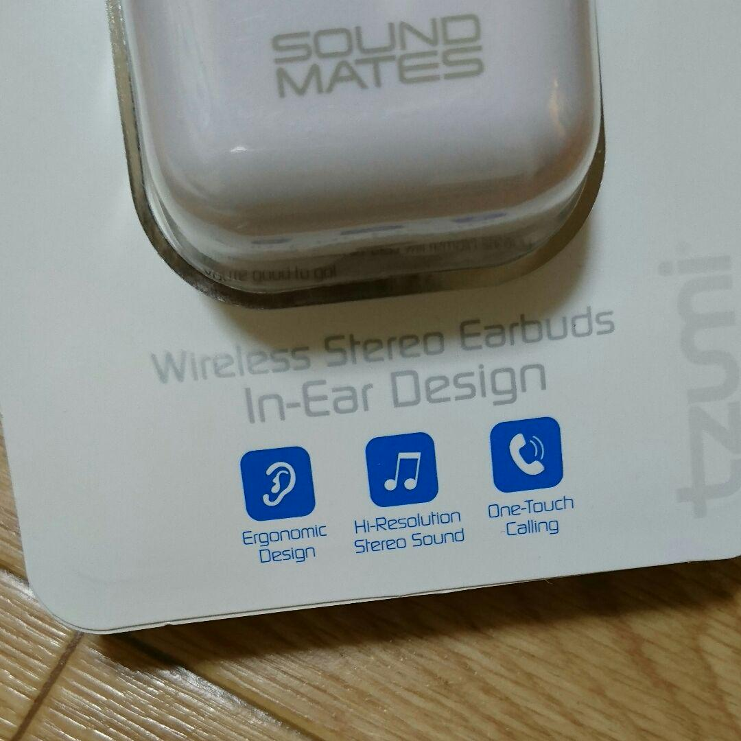 tzumi sound mates Bluetooth イヤホン(¥4,000) - メルカリ スマホでかんたん フリマアプリ