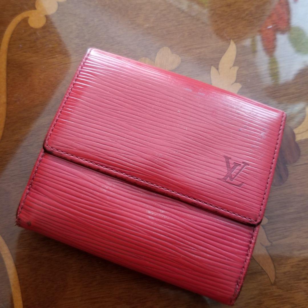 wholesale dealer 3ab34 69b3c ルイヴィトン エピ 折り畳み 財布 赤 ミニ財布(¥4,980) - メルカリ スマホでかんたん フリマアプリ