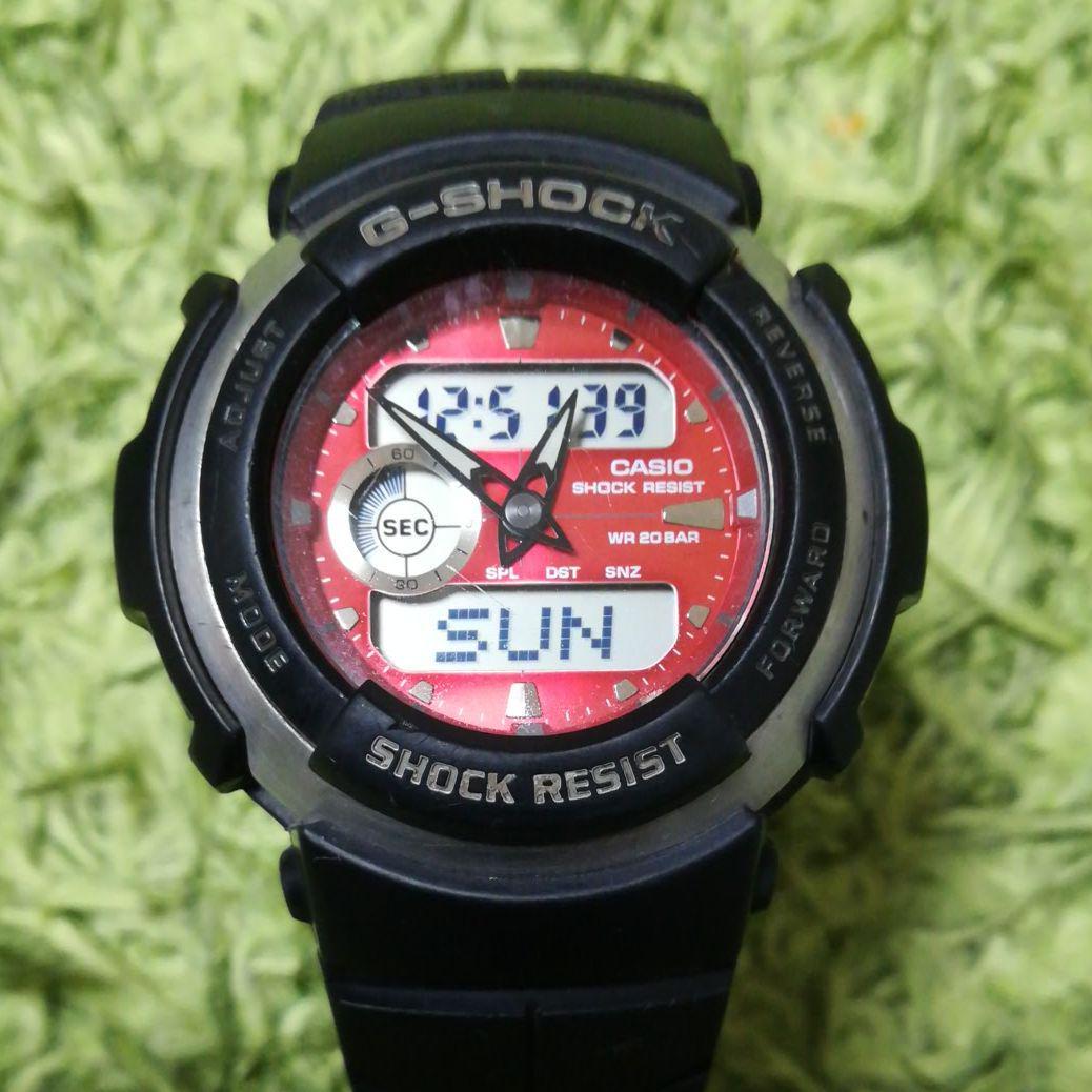 reputable site 0bdec 36c05 専用中❗CASIO G-SHOCK 腕時計 G-300 3750 動作品カシオ(¥3,500) - メルカリ スマホでかんたん フリマアプリ
