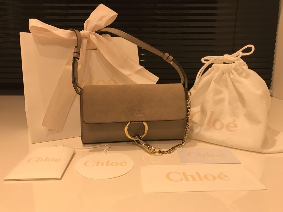 finest selection 2bf07 90b5c クロエ Chloe フェイ ロングウォレット(¥70,000) - メルカリ スマホでかんたん フリマアプリ