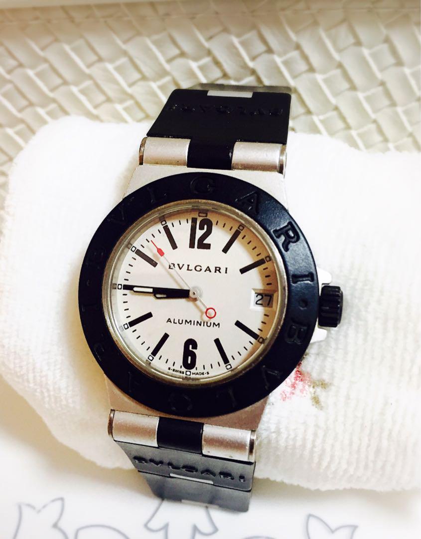 innovative design f137d f3f92 25日まで値引き!腕時計 ブルガリ アルミニウム AL32 TA(¥33,000) - メルカリ スマホでかんたん フリマアプリ