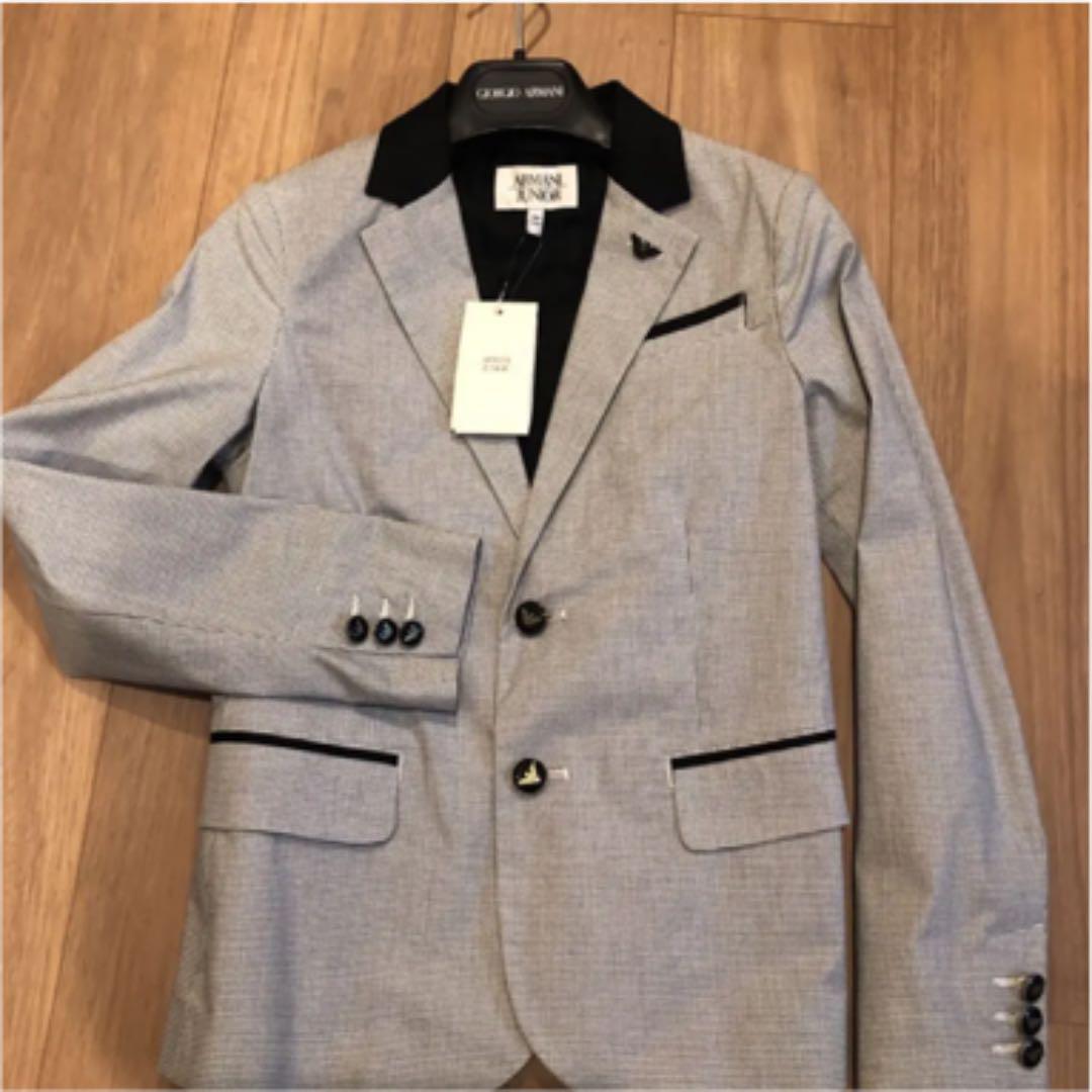 buy cheap 28ba0 43e6c アルマーニジュニアジャケット 新品未使用タグ付き(¥20,000) - メルカリ スマホでかんたん フリマアプリ