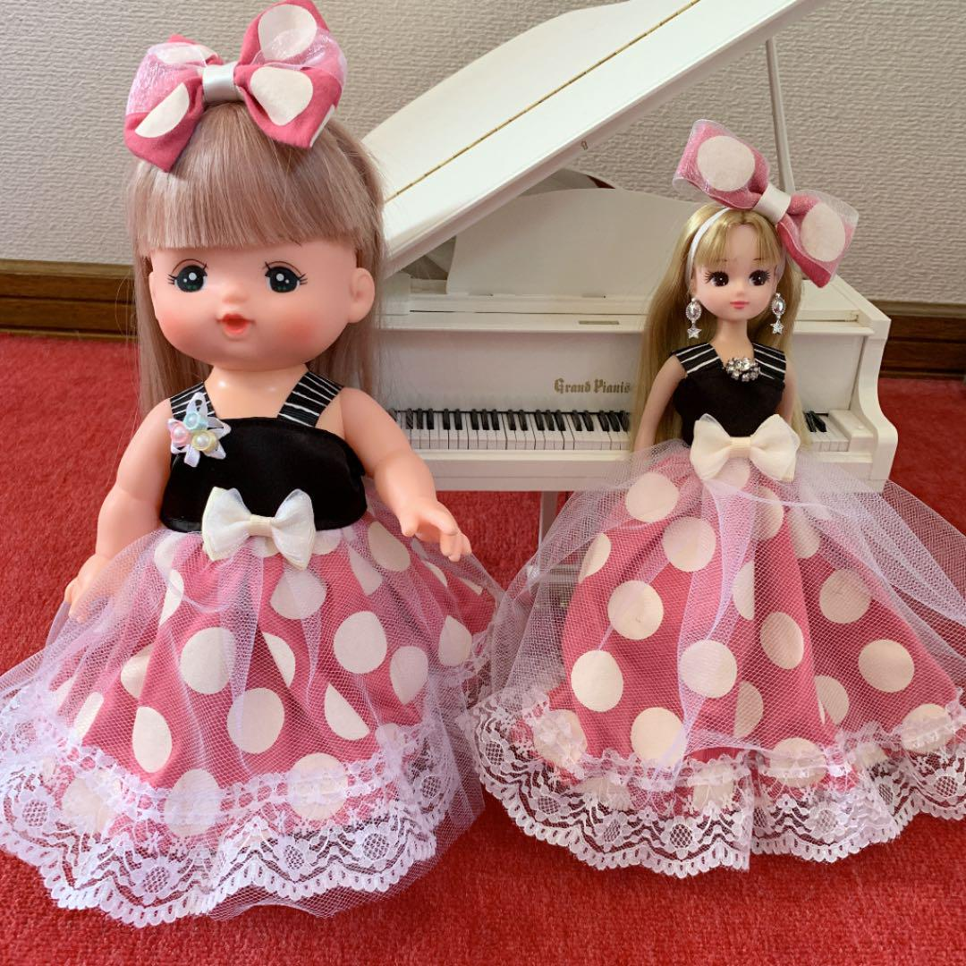 リカちゃん メルちゃん服♡お揃いドレス ハンドメイド(¥1,750) , メルカリ スマホでかんたん フリマアプリ