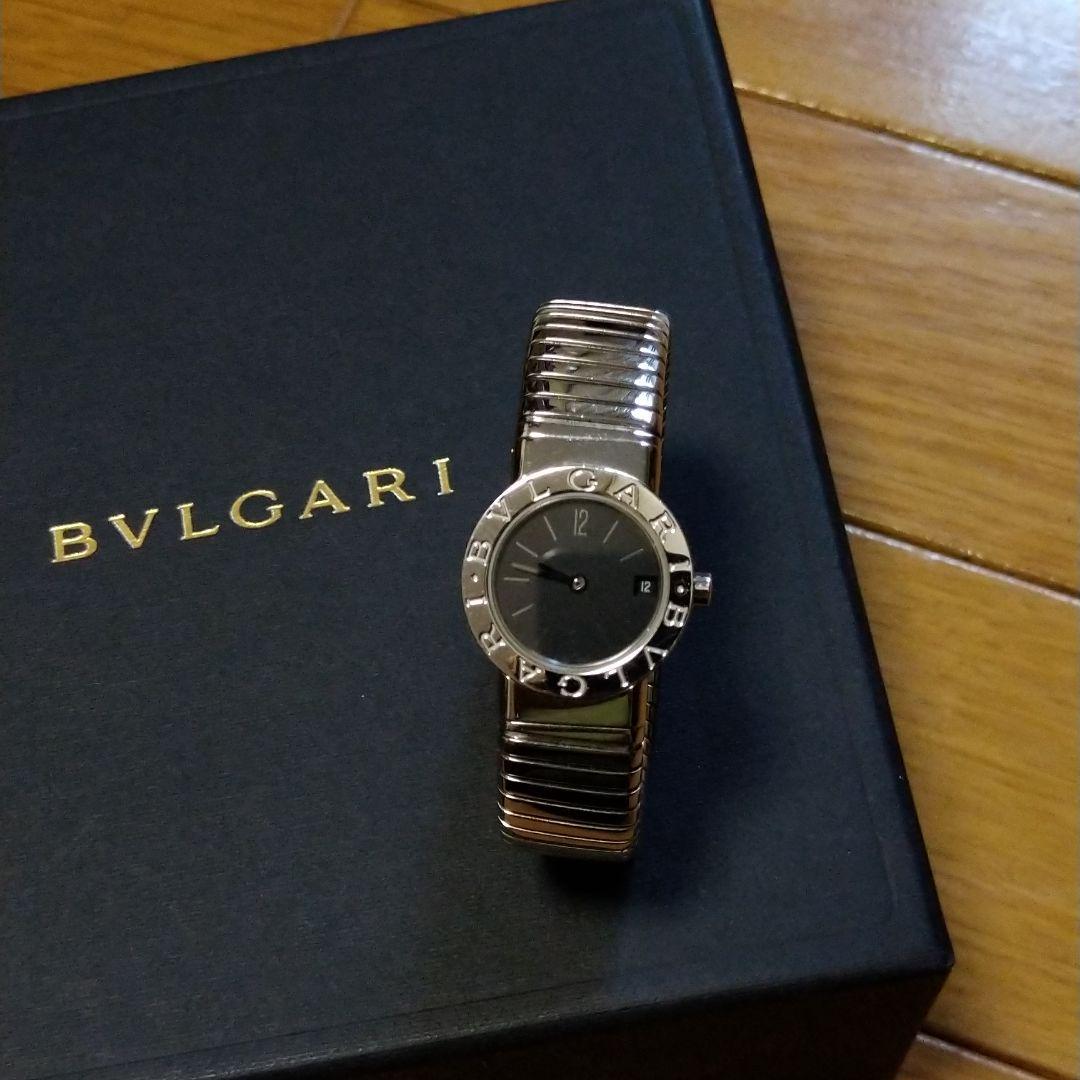 pretty nice 4b248 5bbaf ブルガリ、ブルガリトゥボガス時計、クオーツ(¥200,000) - メルカリ スマホでかんたん フリマアプリ