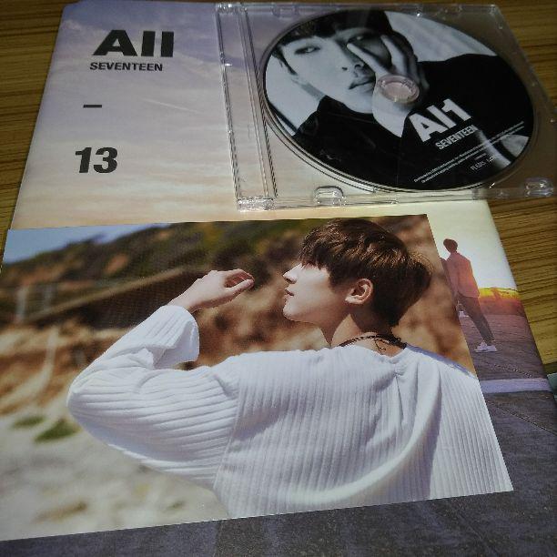 seventeen セブチ AL1 CD ポストカード ウォヌ(¥850) - メルカリ スマホでかんたん フリマアプリ