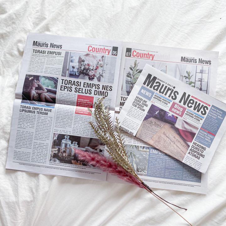 メルカリ 紙もの 英紙 外国新聞 英字新聞 おしゃれ インテリア小物 ホワイト 置物 700 中古や未使用のフリマ
