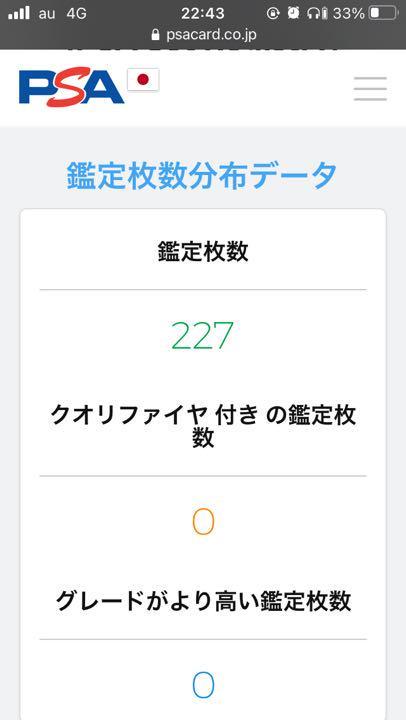 値下げ!! シロナ シャイニースター版 PSA10