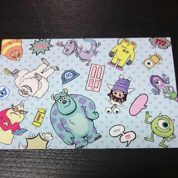 メルカリ ディズニー ピクサー モンスターズインク ポストカード