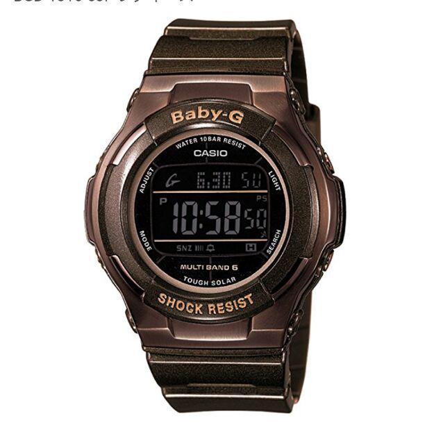 6e639a0c84 メルカリ - Baby-G 腕時計 電波ソーラー BGD-1310-5JF 【腕時計(デジタル ...