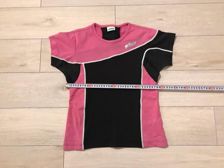 6ab8d14e5ee5a メルカリ - prince プリンス テニスウェア レディースM ピンク tシャツ ...