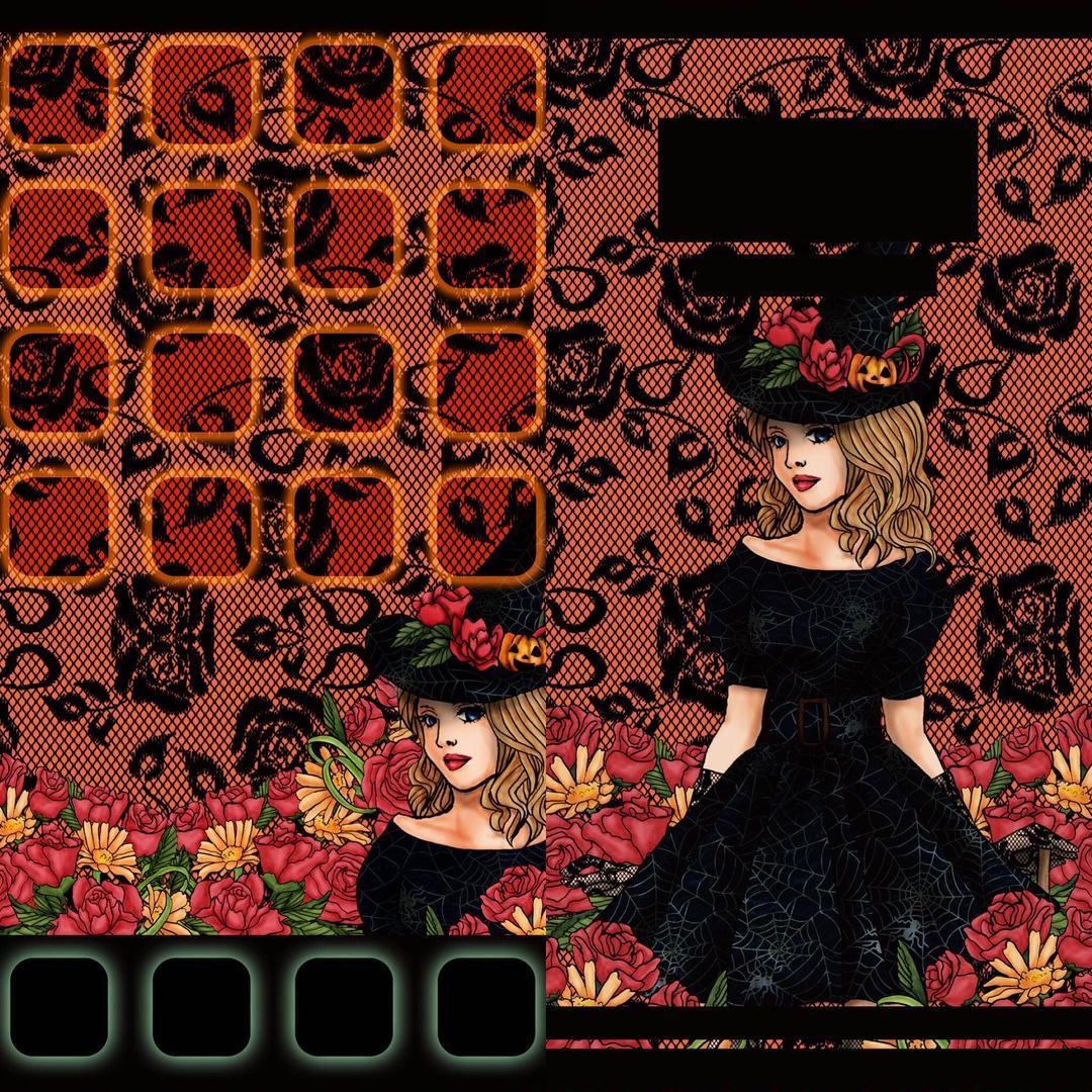 メルカリ Iphone7用の壁紙 ロック画面 ホーム画面 ハロウィンバージョン アート 写真 300 中古や未使用のフリマ