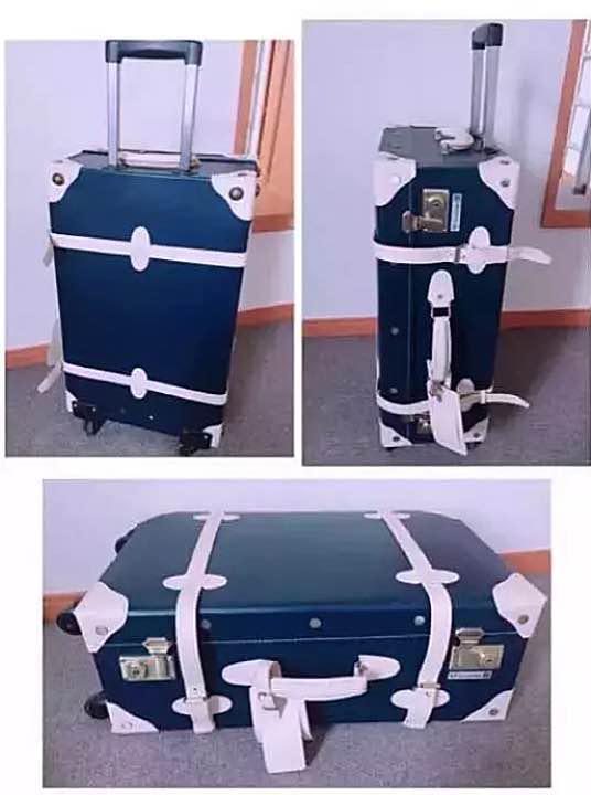27af72967a [ スーツケース専門店FKIKAKU ] トランクケース ネイビーベージュ M