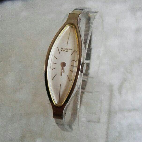 wholesale dealer fc089 46306 キャサリンハムネット 腕時計 レディースクォーツ(¥5,500) - メルカリ スマホでかんたん フリマアプリ
