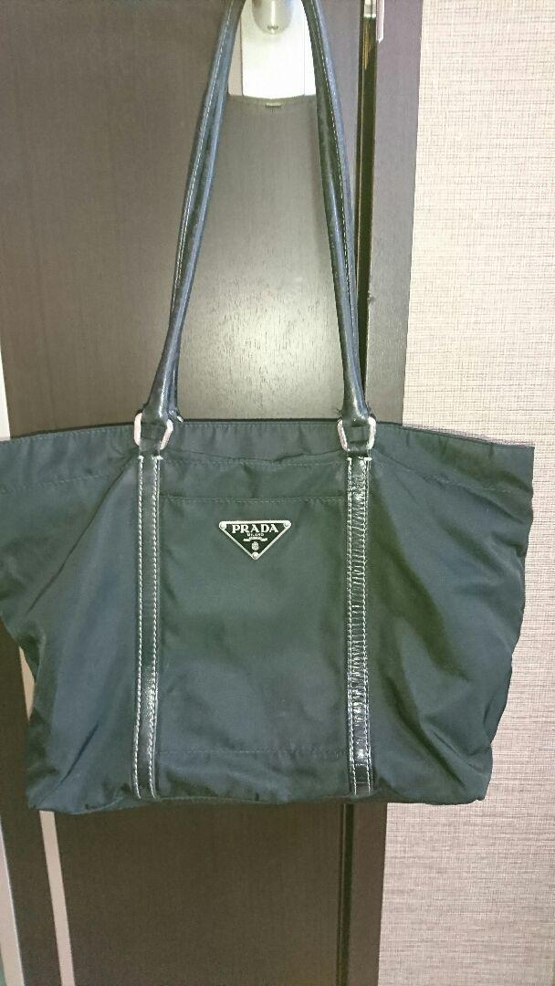 wholesale dealer 3a803 f2000 PRADA プラダ トートバッグ 最終価格(¥ 4,600) - メルカリ スマホでかんたん フリマアプリ