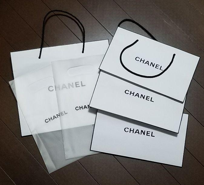 7a96dbdcc57e メルカリ - CHANEL♡コスメショップ袋セット♡ 【シャネル】 (¥800) 中古 ...