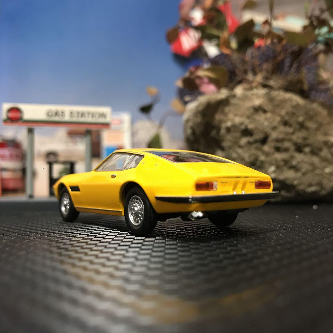 Kyosho 1//64 Maserati Ghibli Diecast Minicar Car Model Yellow