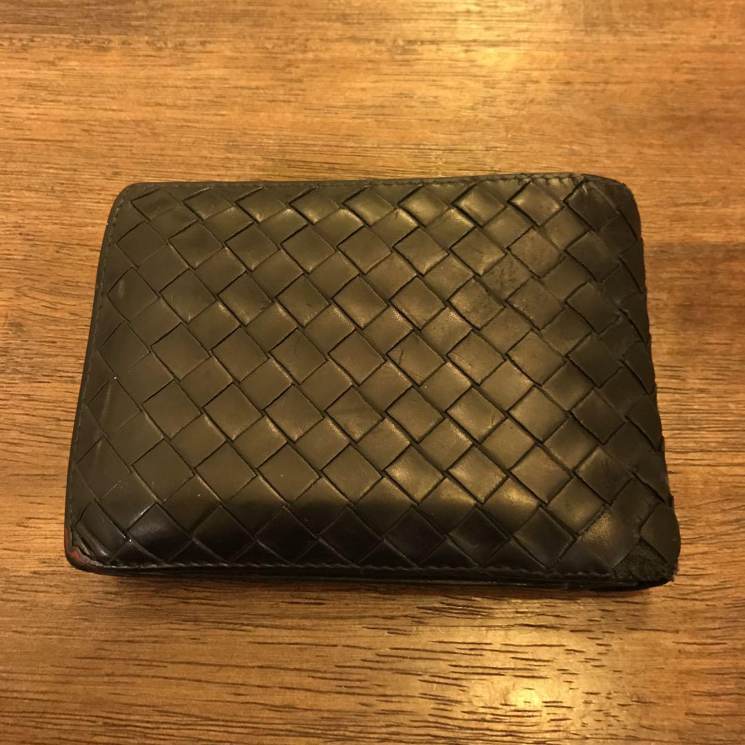 online store b01f8 e7f0a ボッテガヴェネタ 二つ折り財布(¥3,800) - メルカリ スマホでかんたん フリマアプリ
