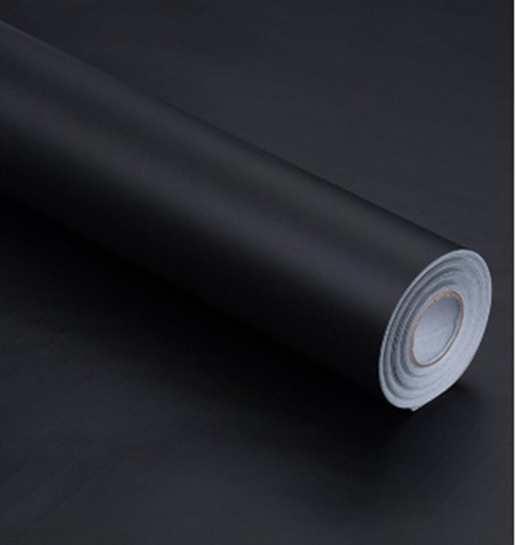 メルカリ 壁紙シール 防水 無地 黒 45cm 10m 2個 インテリア