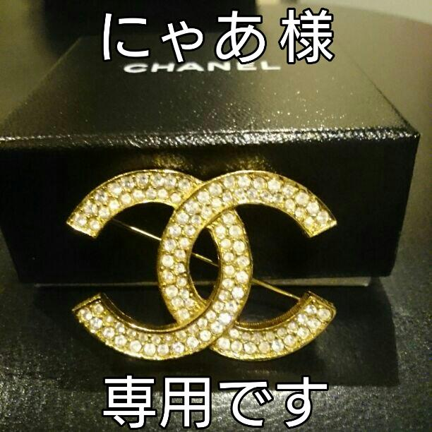 d3ef336229f4 メルカリ - 美品 正規品 定番のCHANEL ブローチ シャネル アクセサリー ...