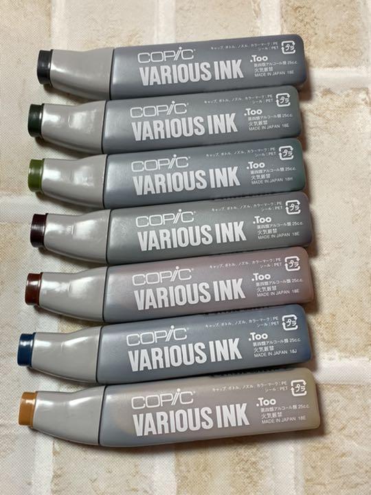 コピック バリオス インク