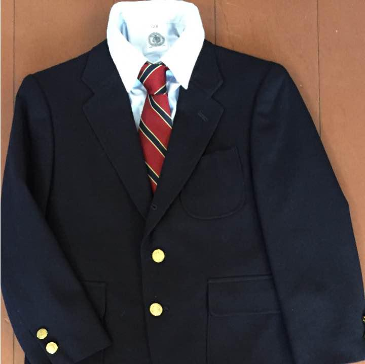 88e5ff8c62622 メルカリ - 卒園式、入学式にも J PRESS 紺ブレ スーツ ネクタイセット ...