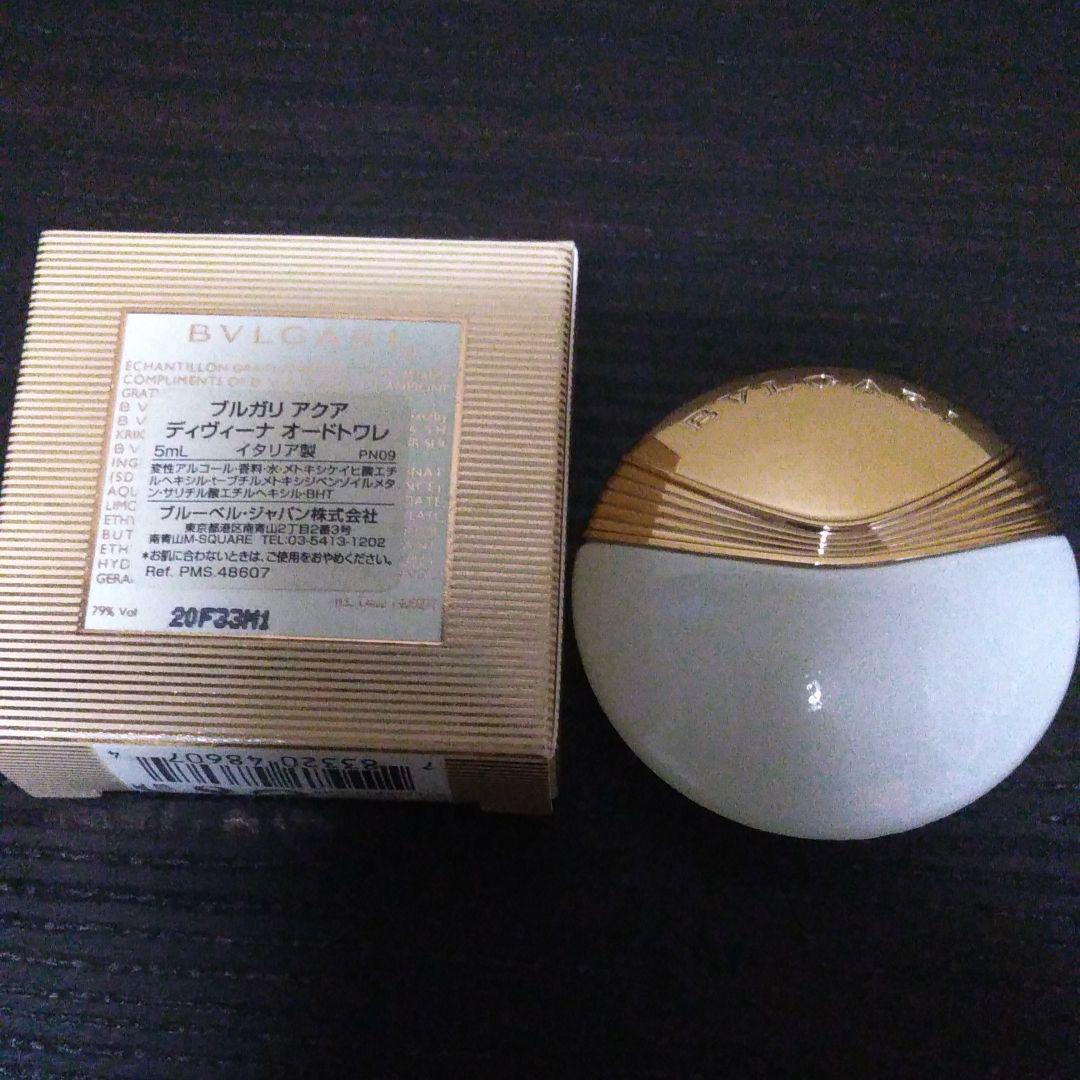 online store 2f9ee 02e98 BVLGARI ブルガリ 香水 ブルガリアクアディヴィーナEDT(¥999) - メルカリ スマホでかんたん フリマアプリ