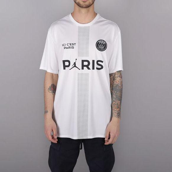 9abfcc32ad4f メルカリ - 希少 XL PSG Jordan BCFC POLY REPLICA TOP  Tシャツ ...