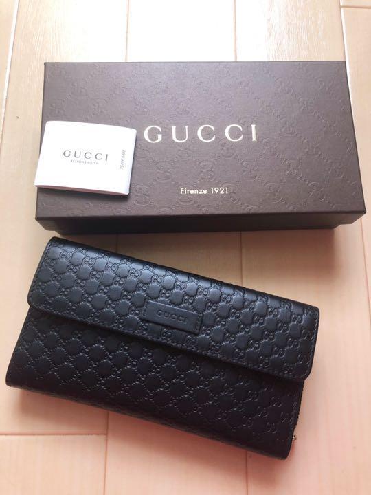 brand new 33320 6805d Gucci グッチ 長財布 ファスナー付き(¥32,300) - メルカリ スマホでかんたん フリマアプリ