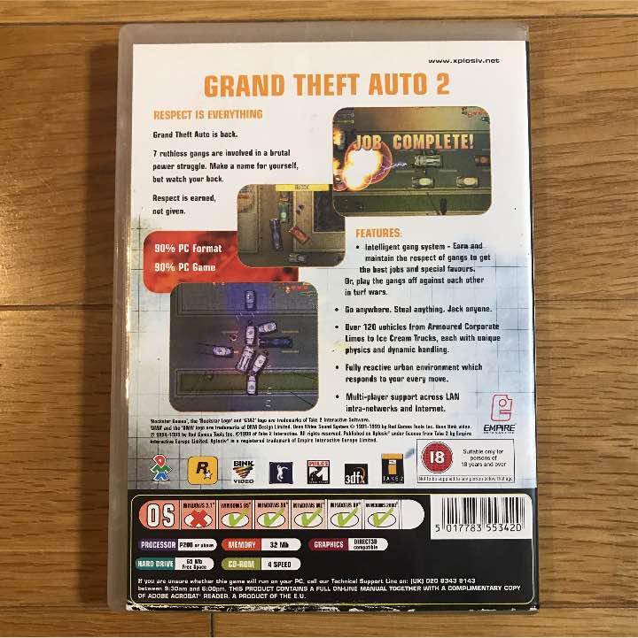 メルカリ - GTA Ⅱ グランド セフト オート 2 Windows版 海外版? 【PC ...
