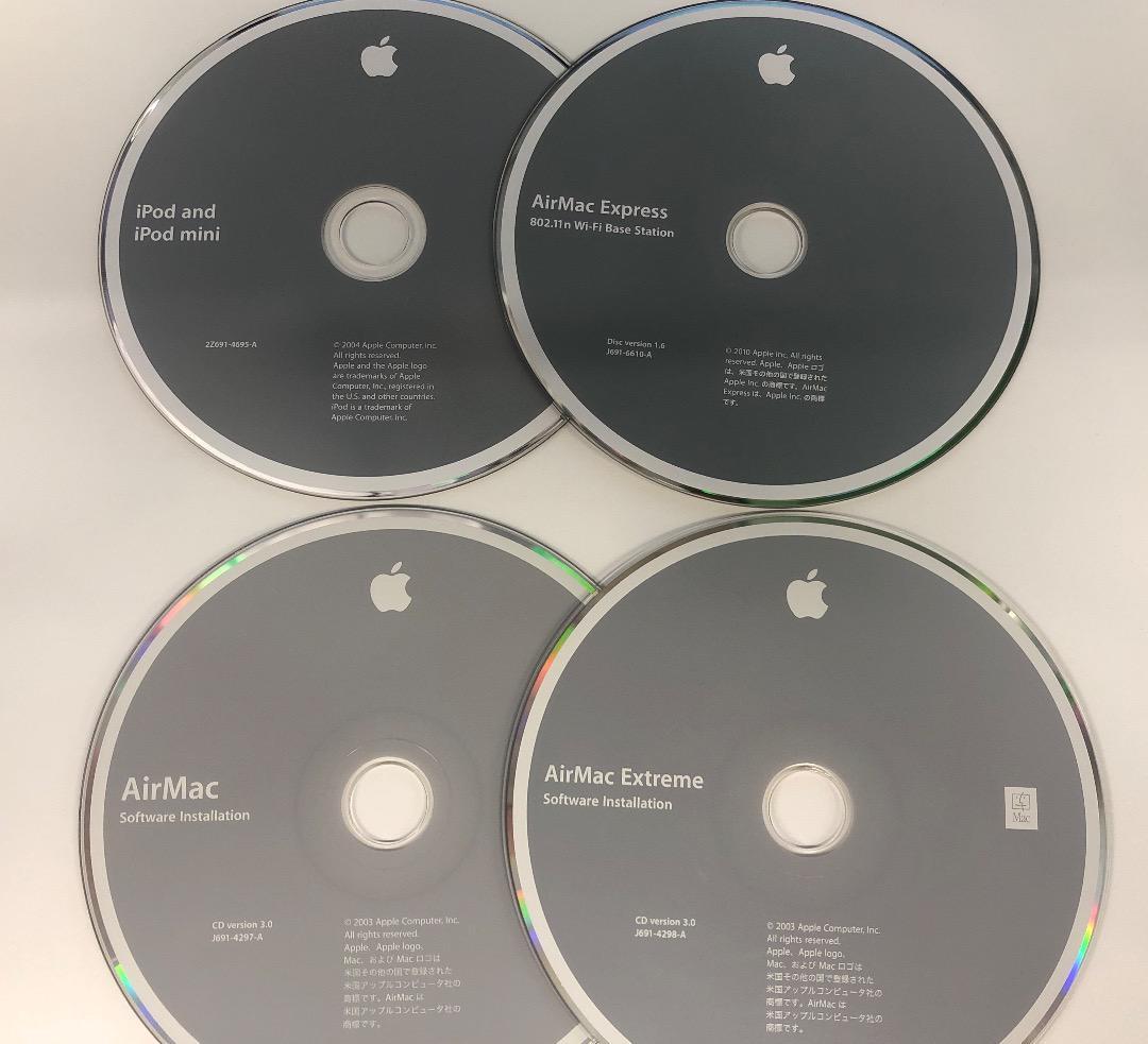 iBook G4 Mac OS X 10.3 Additional Software /& Apple Hardware Test 2004