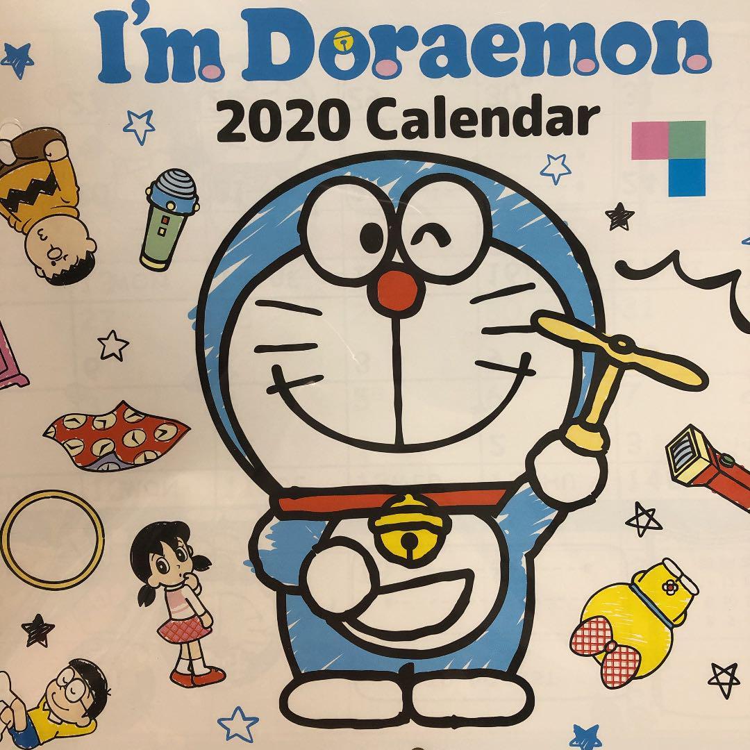 メルカリ ドラえもん 壁紙けカレンダー キャラクターグッズ