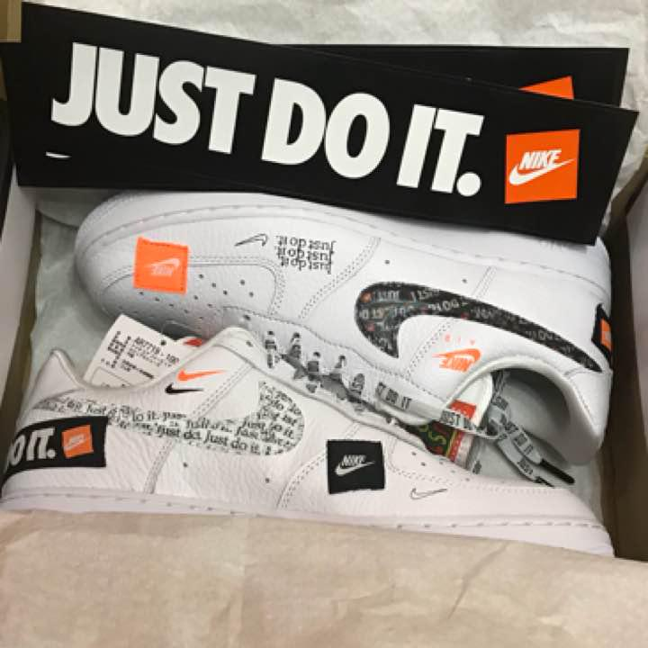 codice coupon vendita all'ingrosso nuovo arrivo NIKE AIR FORCE 1 プレミアムJUST DO IT FLOODED(¥20,000) - メルカリ スマホでかんたん フリマアプリ