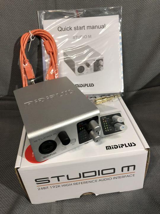 midiplus Studio M USB Audio Interface Audio Interfaces Musical ...