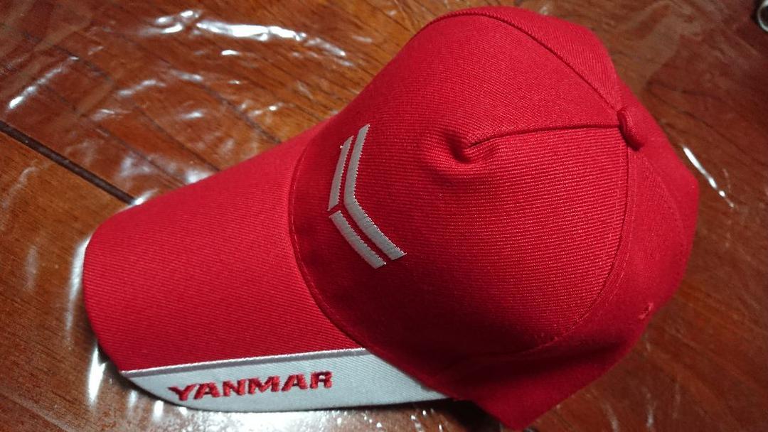 6eacbf89beaee メルカリ - ヤンマー帽子 赤 【キャップ】 (¥1,600) 中古や未使用のフリマ