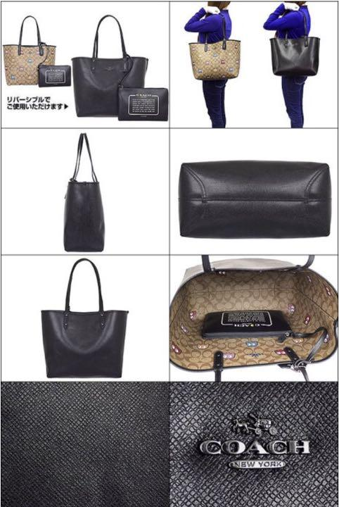bafbd1553a22 メルカリ - スヌーピー 出品 COACH トートバッグ 【コーチ】 (¥12,500 ...