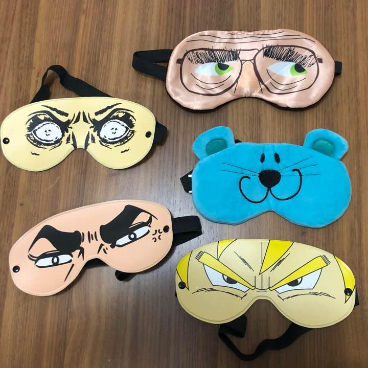 変顔 アニメ アイマスク 5枚セット(¥1,500) , メルカリ スマホでかんたん フリマアプリ