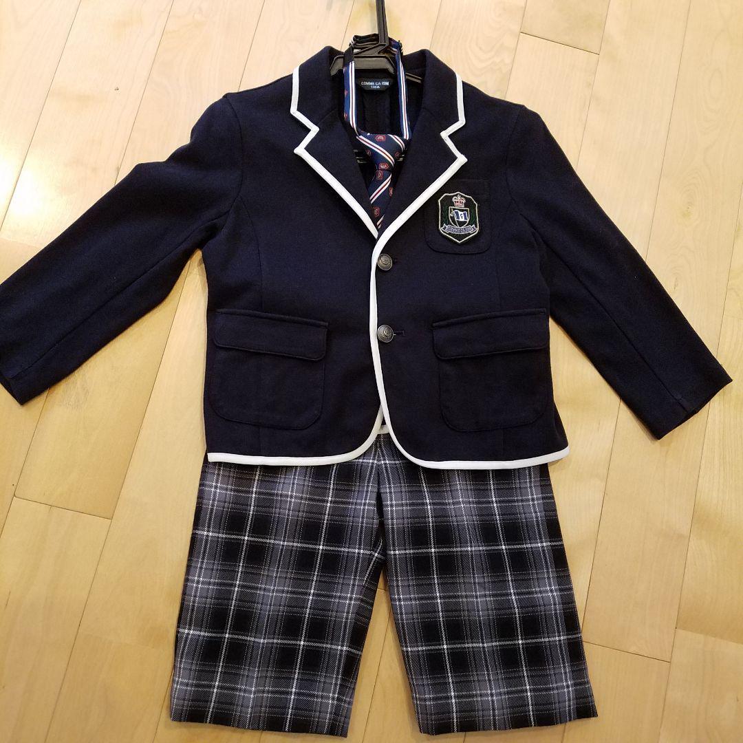 968e68dcbc764 メルカリ - コムサイズム 110 男の子 スーツ 入園式 卒園式 発表会 ...