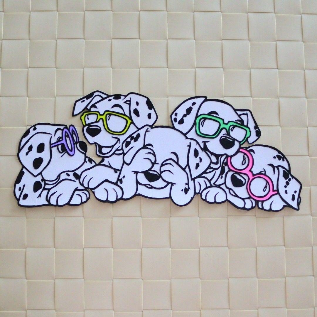メルカリ ディズニー切り絵 101匹わんちゃん クラフト 布製品 2 000 中古や未使用のフリマ
