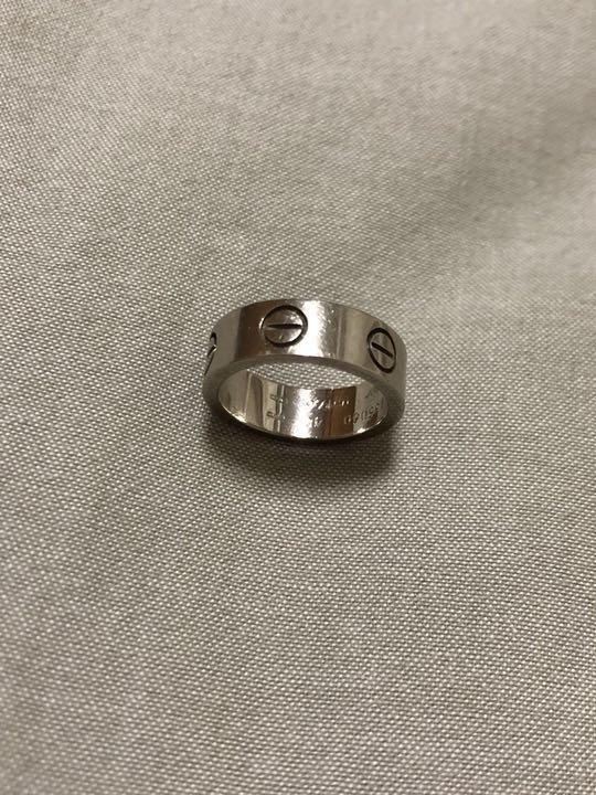2f2b0366d5dcd カルティエ ラブリング 指輪 48(¥ 33,800) - メルカリ スマホでかんたん フリマアプリ