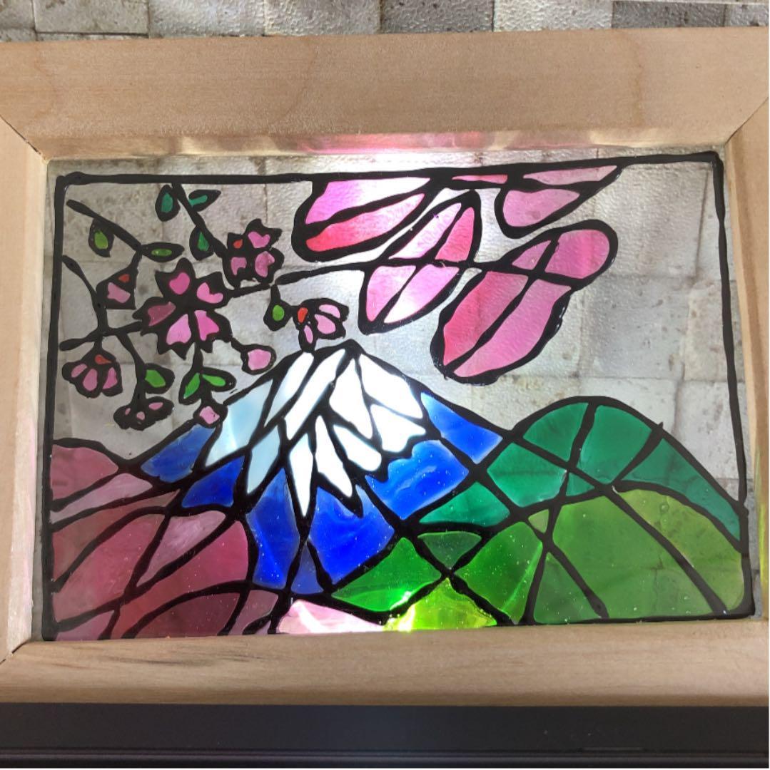 ステンド グラス 絵の具 ガラス