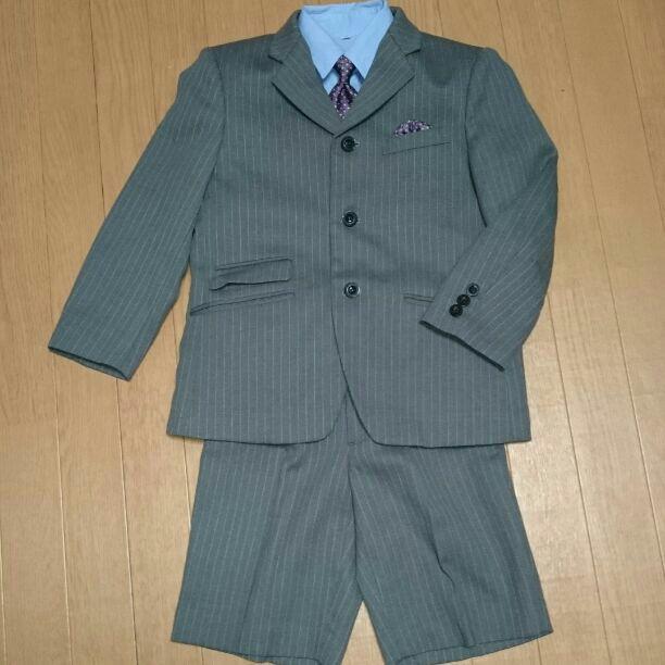 aeb0453850a19 メルカリ - ヒロココシノ 入学式に 120㎝男児フォーマル  フォーマル ...