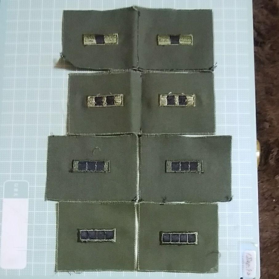 メルカリ - 米軍准士官用襟章 4対×2色 戦闘服用 【個人装備】 (¥666 ...