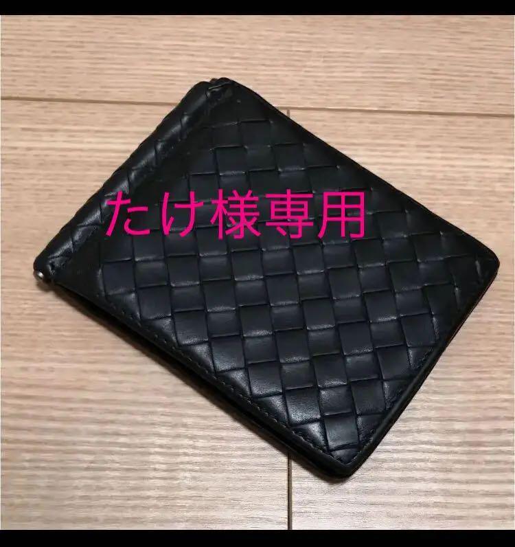 reputable site 15e97 e15fd ボッテガ・ヴェネタ(BOTTEGA VENETA)マネークリップ付き二つ折り財布(¥16,000) - メルカリ スマホでかんたん フリマアプリ