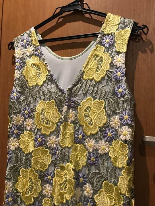 LilyBrown 刺繍ドレス ワンピース ウェディング リリーブラウンワンピ(¥3,980) , メルカリ スマホでかんたん フリマアプリ