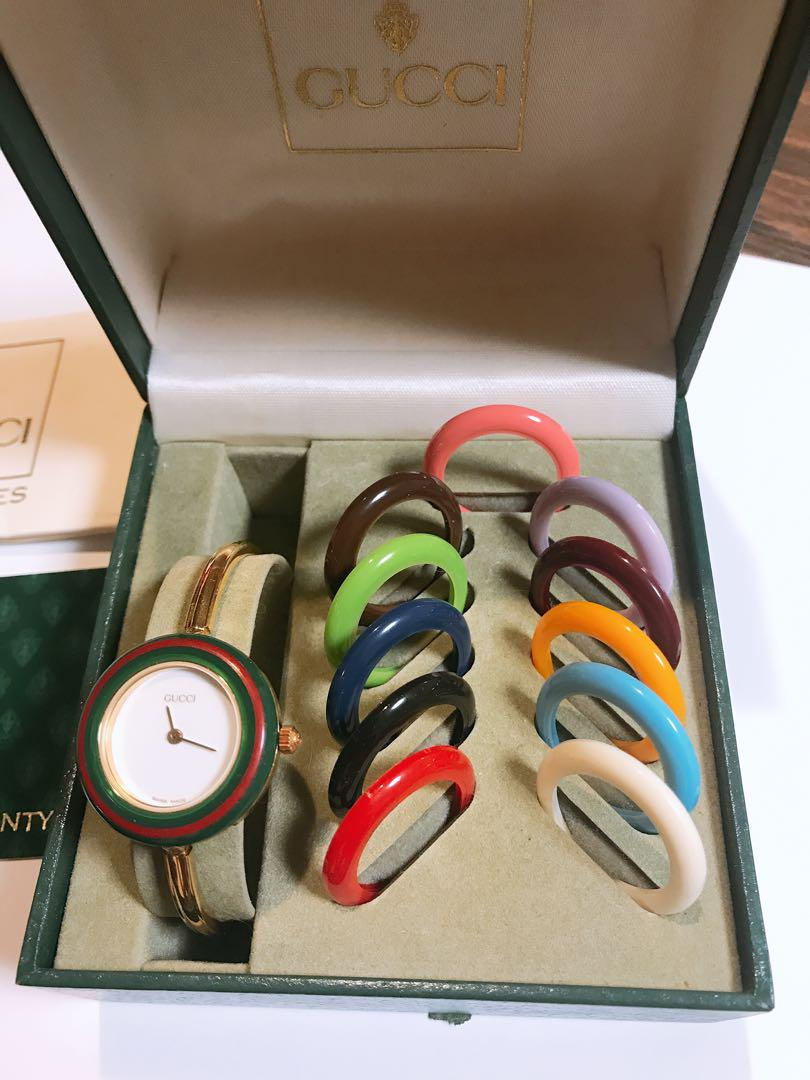size 40 5e777 01666 GUCCI チェンジベゼル 腕時計 ビンテージ(¥22,000) - メルカリ スマホでかんたん フリマアプリ