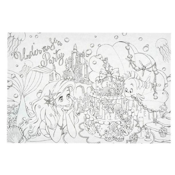 ディズニープリンセス 大人の塗り絵 アリエル ベル ラプンツェル ポストカード550 メルカリ スマホでかんたん フリマアプリ