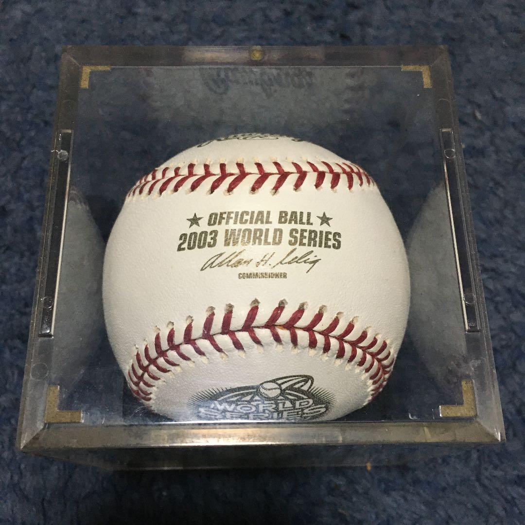 メルカリ - 2003年 MLBワールドシリーズ 公式ボール 【記念グッズ ...