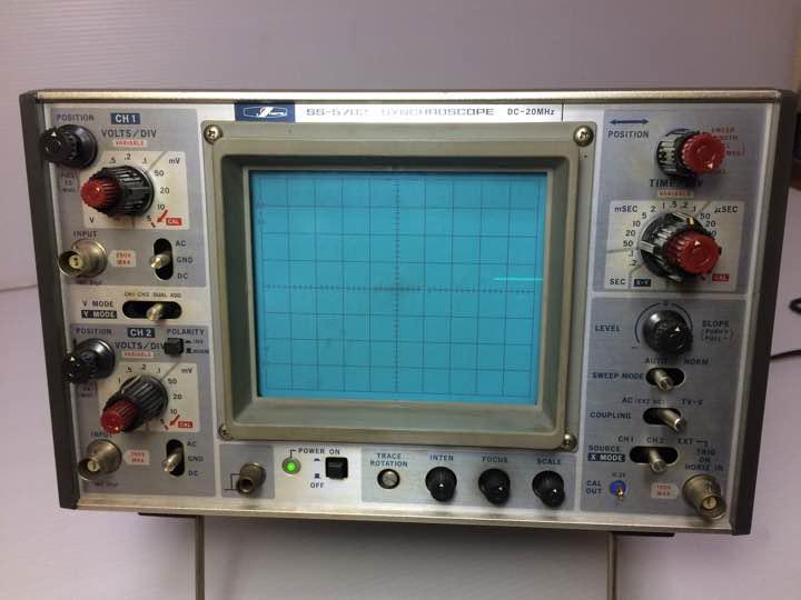 メルカリ - 岩通電機 オシロスコープ SS-5702 シンクロスコープ ...