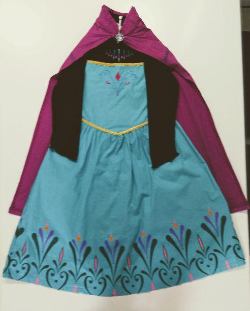 エルサ 戴冠式 ドレス140 ディズニーアナ雪 ハロウィン 仮装 衣装フォーマル(¥2,580) , メルカリ スマホでかんたん フリマアプリ